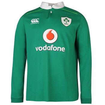 Canterbury Ireland Home Classic Long Sleeve Jersey 2016 2017 Mens - PROD18662