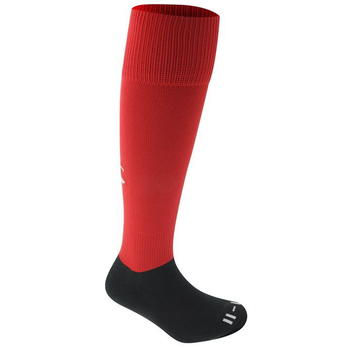 Canterbury Playing Rugby Sock - Black/Red - 0012