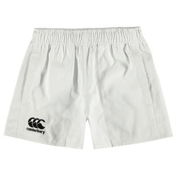 Canterbury Pro Rugby Shorts Junior Boys - White - PROD47560